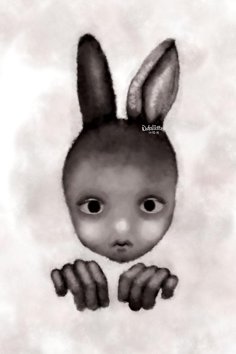 Rabbiteen / 16×24inches, digital painting
