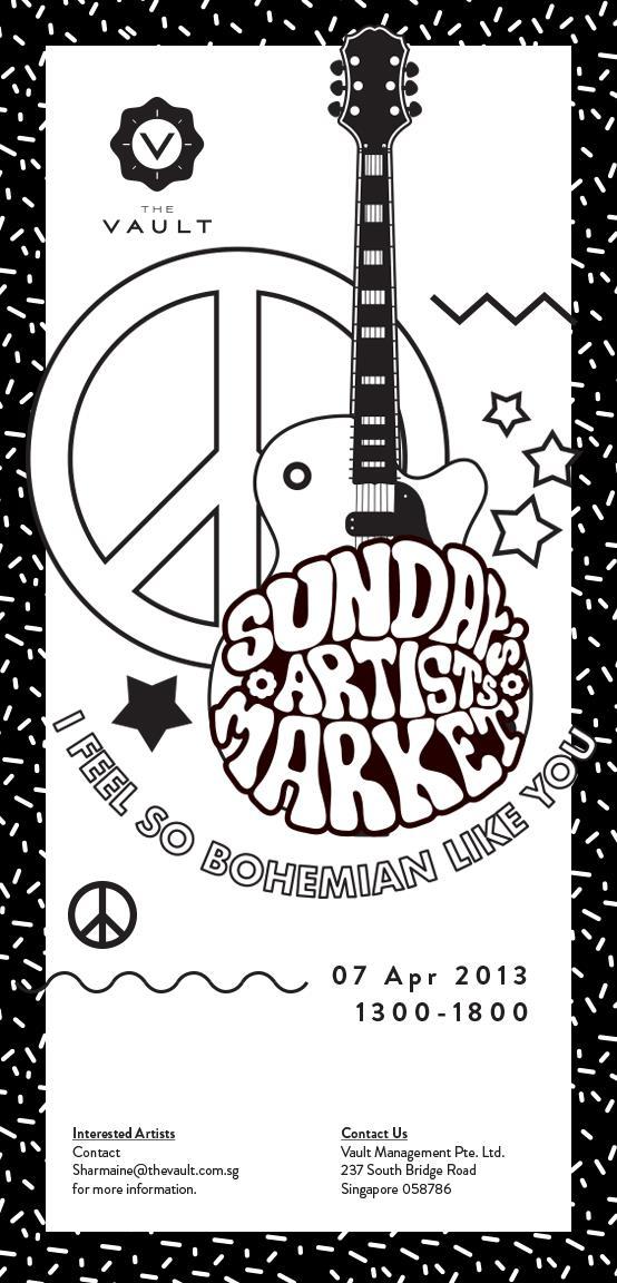 Sunday Artists Market at The Vault