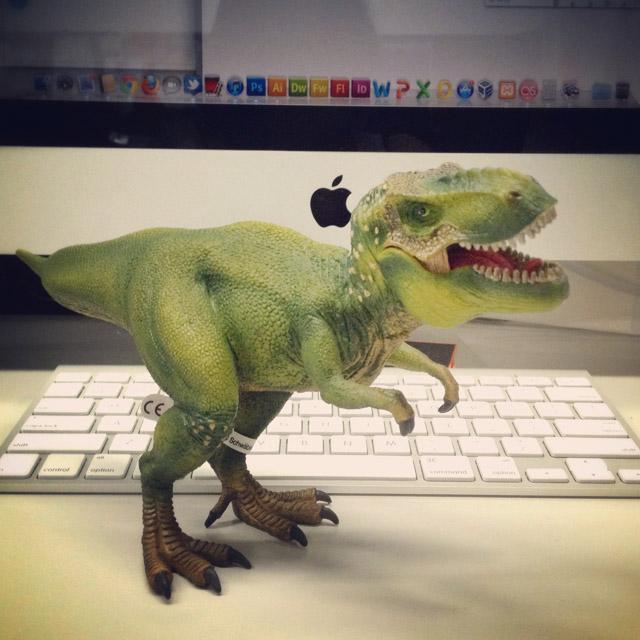 Rex disturbing me at work